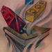 Tattoos - Lego and Book Side Piece - 76569