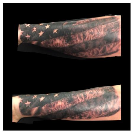old glory Tattoo Design Thumbnail