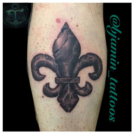 fleur de lis Tattoo Design Thumbnail