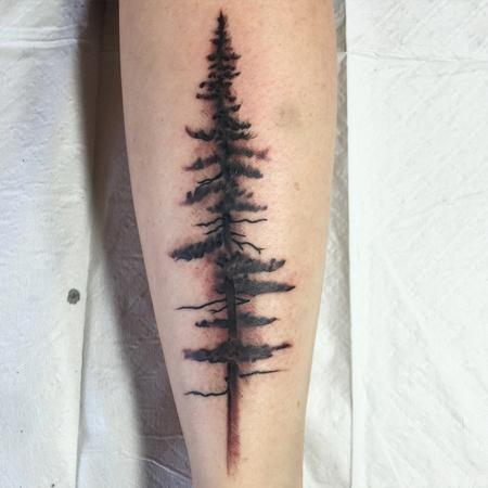 Tattoos - Tree - 111800
