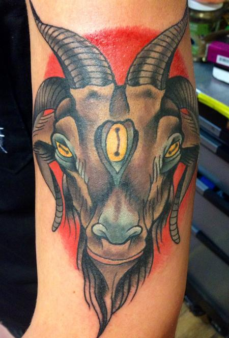 Tattoos - Lindens Goat - 93637