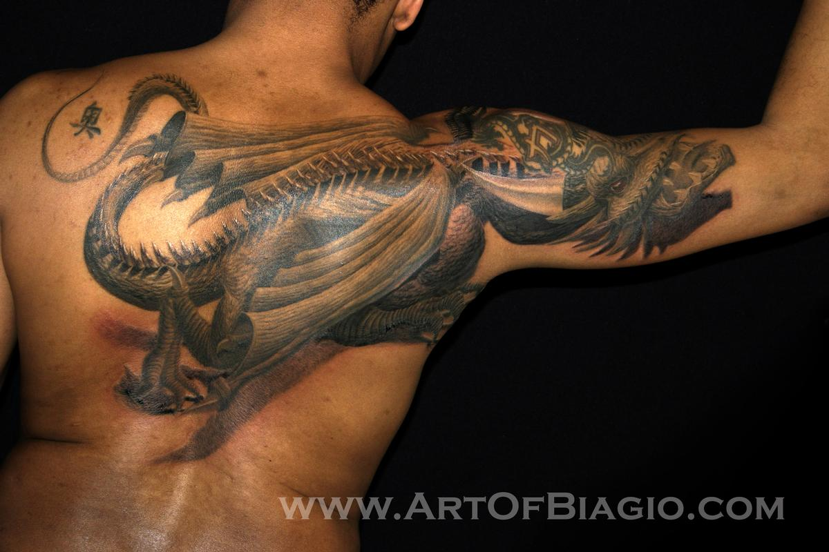 Tattoos - Creeping Dragon - 74983