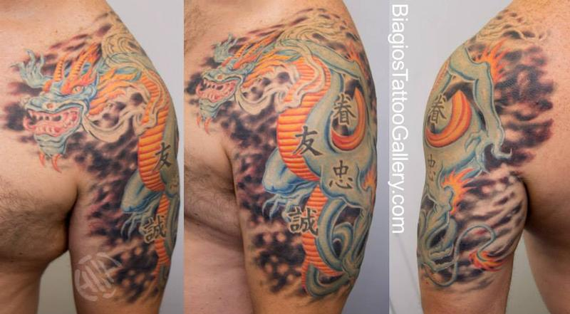 Tattoos - Dragon Protector tattoo by Talo - 79956