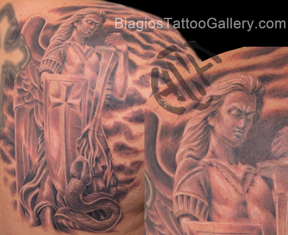 Tattoos - Saint Michael - 89502