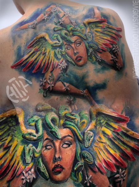 Tattoos - Trinacria Comp - 127592