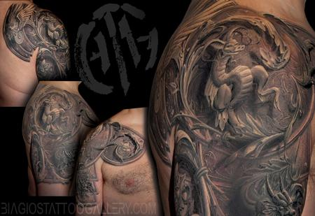 Tattoos - Surreal Armor - 115471