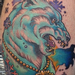 Power polar bear Tattoo Design Thumbnail