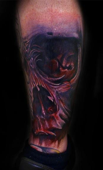 Tattoos - Bloody Skull - 52354