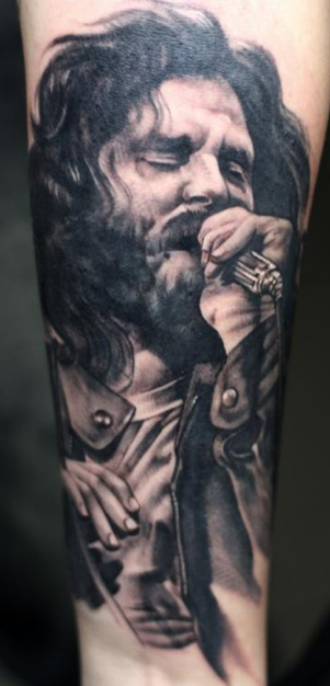 Tattoos - Jim Morrison Tattoo - 88831