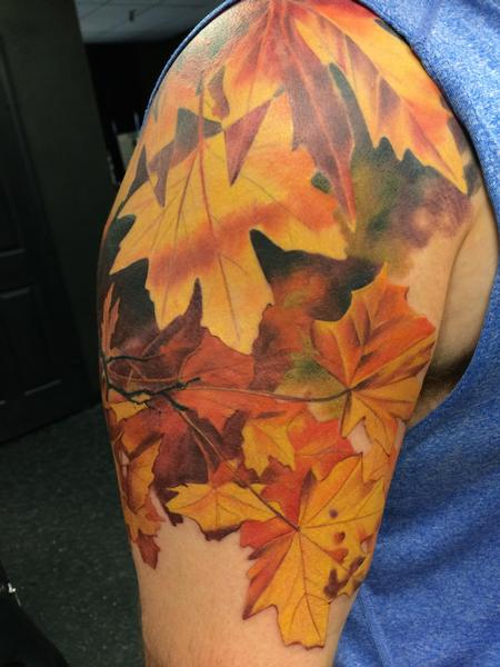 Autumn Leaves Design Thumbnail