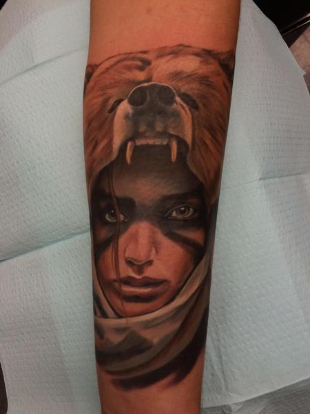 Tattoos - Bear Girl - 106242