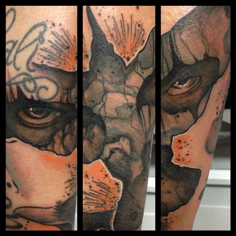 Tribute to the crow by emy blacksheep tattoonow for Black sheep tattoo