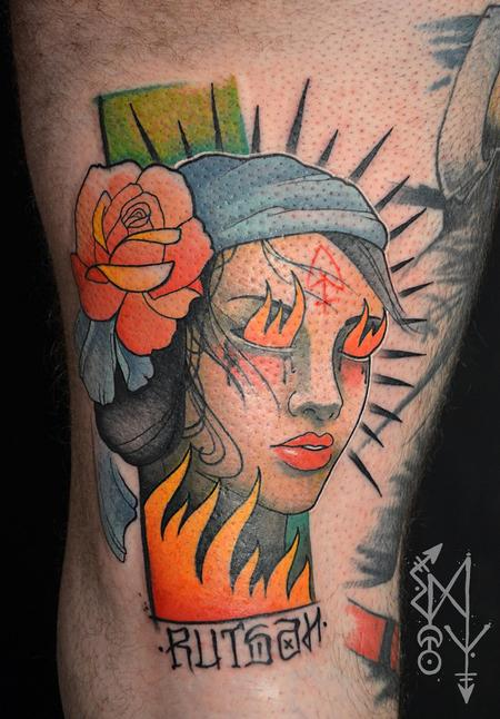 Tattoos - Burn the witch - 116333