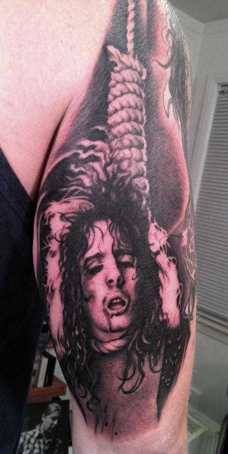 Tattoos - Alice Cooper circa 1972. Killer era. A good year! - 60531