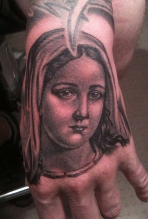 Tattoos - Virgin Mary - 47772