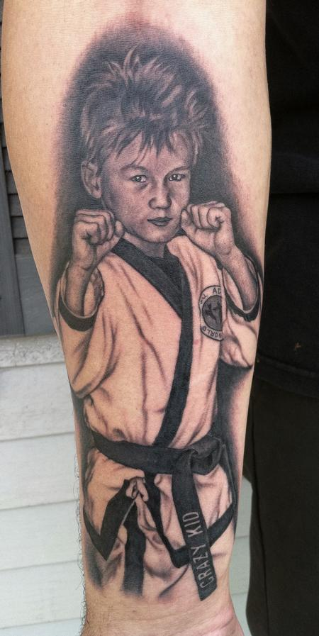 Looking for unique Bob Tyrrell Tattoos?  Crazy Kid