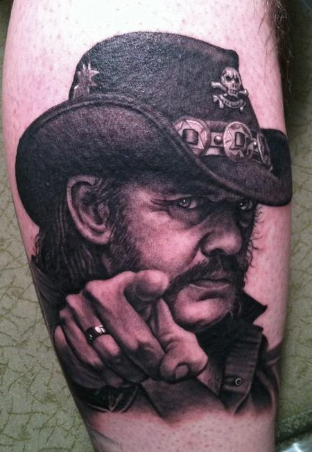 Looking for unique Bob Tyrrell Tattoos?  Lemmy