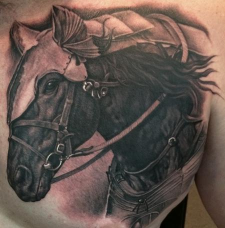 Shane's Horse Tattoo Design Thumbnail