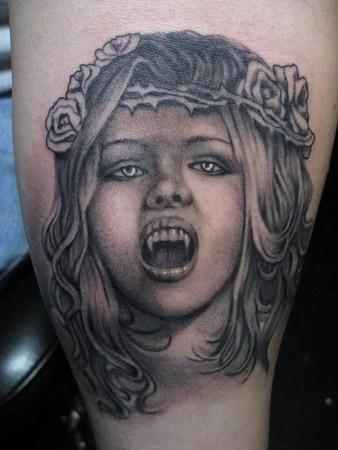 Vampire Tattoos on Tattoos