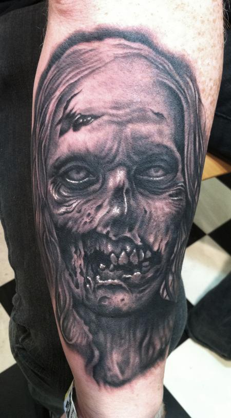 Tattoos - Zombie from the Walking Dead. - 60535