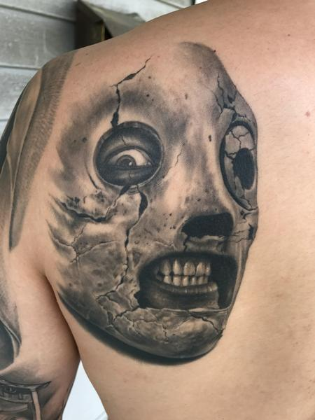 Bob Tyrrell - Creepy tattoo