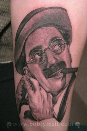 Tattoos - Groucho Marx - 34613