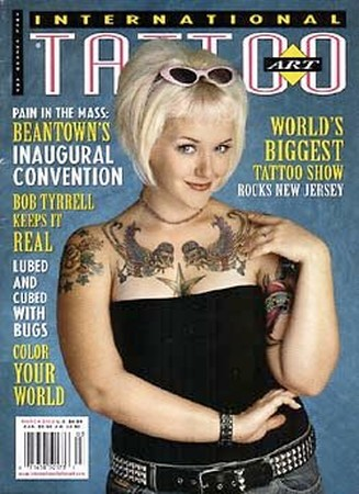 Tattoos - International Tattoo Art - March, 2002 - 42818
