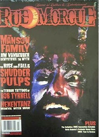 - Rue Morgue #43 - March 2005