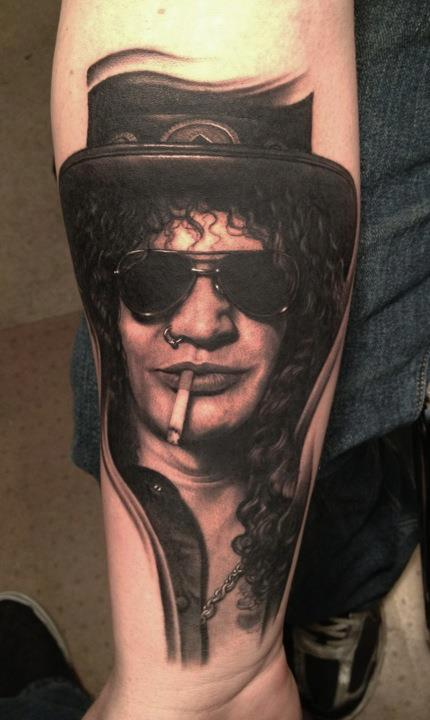 Slash Guns and Roses Tattoo Tattoo Design Thumbnail