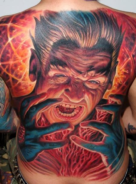Tattoos - Anger - 61245