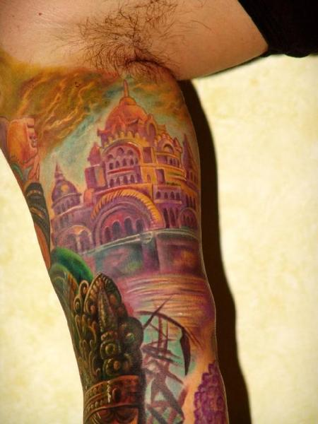 Tattoos - Gods sleeve detail - 61247