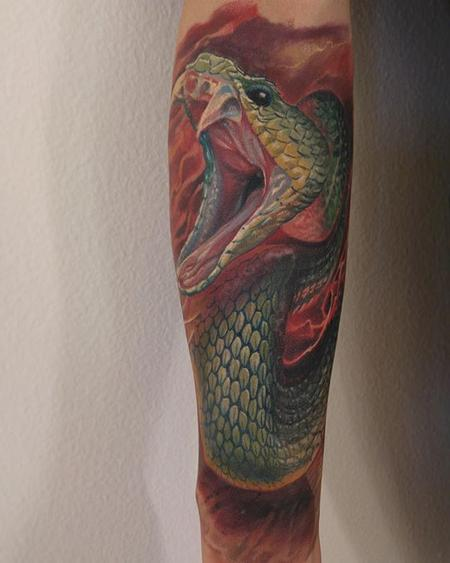 Tattoos - Snake Tattoo - 112159