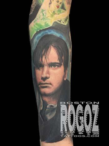 Ewan McGregor Portrait by Boston Rogoz: TattooNOW
