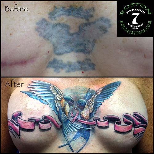 Boston Rogoz Tattoo : Tattoos : Body Part Chest Tattoos for Women ...