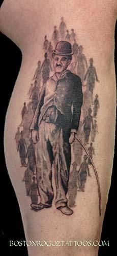 Tattoos - Charlie Chaplain - 86280
