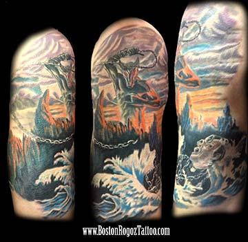 Tattoos - Dio Holy Diver tattoo - 74326