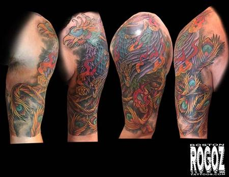 Tattoos - Phoenix coverup - 130632