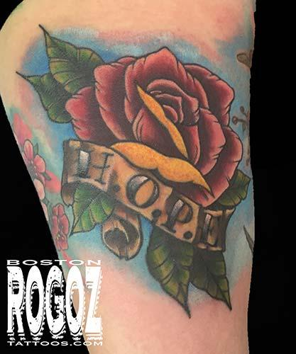 Tattoos - Hope rose - 119648