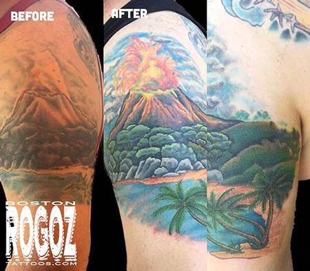 Boston Rogoz - volcano coverup
