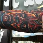 Darth Maul (Healed) Tattoo Design Thumbnail