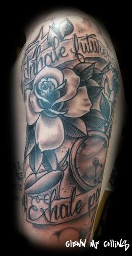 Tattoos - Rose tattoo - 116423