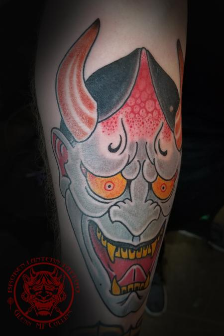 Glenn Collins - Hannya Tattoo
