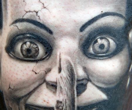Victor Modafferi - Dead Silence detail
