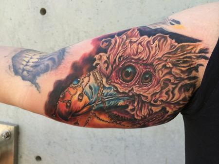 Tattoos - Buzzard - 88916