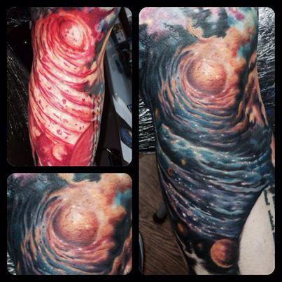 Tattoos - Galaxy - 88952