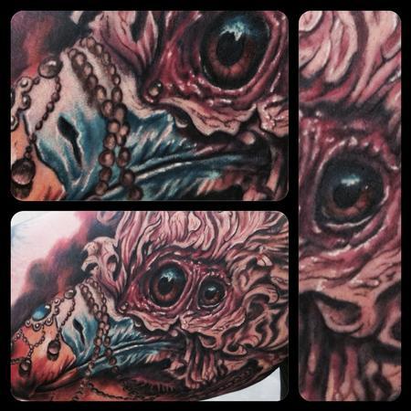 Tattoos - Buzzard Detail - 88917