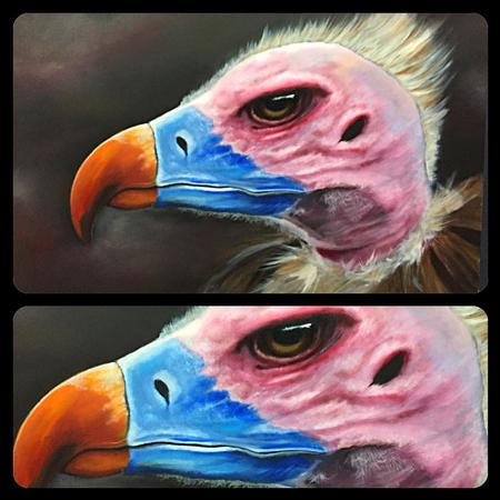 Chad Miskimon - Vulture Painting