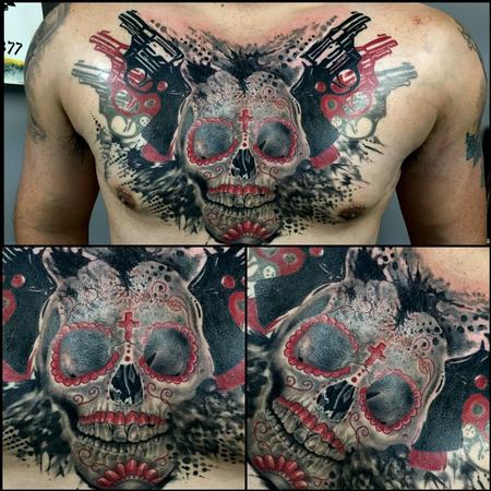 Chad Miskimon - Skull & Guns