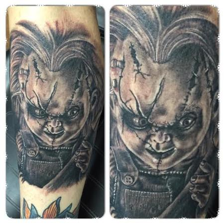 Tattoos - Chucky of the Child's Play/Chucky series of films. - 98504