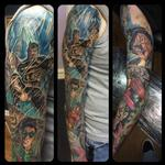 Tattoos - Batman Sleeve - 122413